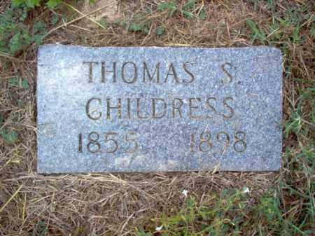 CHILDRESS, THOMAS S - Cross County, Arkansas | THOMAS S CHILDRESS - Arkansas Gravestone Photos