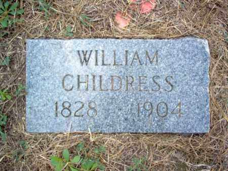 CHILDRESS, WILLIAM - Cross County, Arkansas | WILLIAM CHILDRESS - Arkansas Gravestone Photos