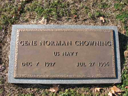CHOWNING (VETERAN), GENE NORMAN - Cross County, Arkansas | GENE NORMAN CHOWNING (VETERAN) - Arkansas Gravestone Photos
