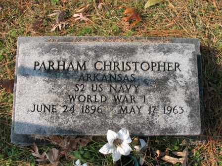 CHRISTOPHER (VETERAN WWI), PARHAM - Cross County, Arkansas | PARHAM CHRISTOPHER (VETERAN WWI) - Arkansas Gravestone Photos