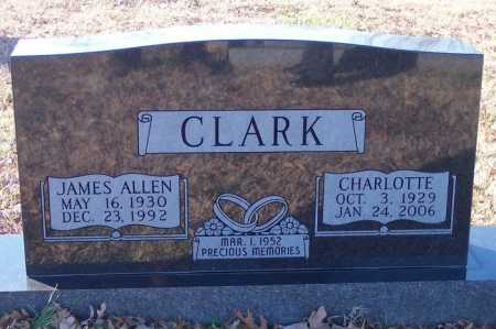 PETTY CLARK, CHARLOTTE OZELL - Cross County, Arkansas | CHARLOTTE OZELL PETTY CLARK - Arkansas Gravestone Photos
