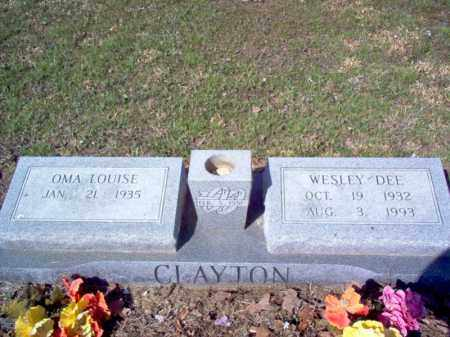 CLAYTON, WESLEY DEE - Cross County, Arkansas | WESLEY DEE CLAYTON - Arkansas Gravestone Photos