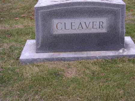 CLEAVER, PLOT STONE - Cross County, Arkansas | PLOT STONE CLEAVER - Arkansas Gravestone Photos