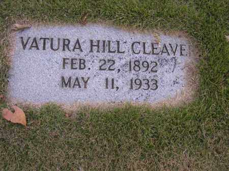 HILL CLEAVER, VATURA - Cross County, Arkansas | VATURA HILL CLEAVER - Arkansas Gravestone Photos