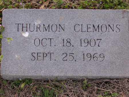 CLEMONS, THURMON - Cross County, Arkansas | THURMON CLEMONS - Arkansas Gravestone Photos