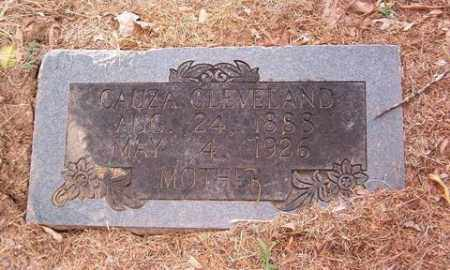 CLEVELAND, CAUZA - Cross County, Arkansas | CAUZA CLEVELAND - Arkansas Gravestone Photos