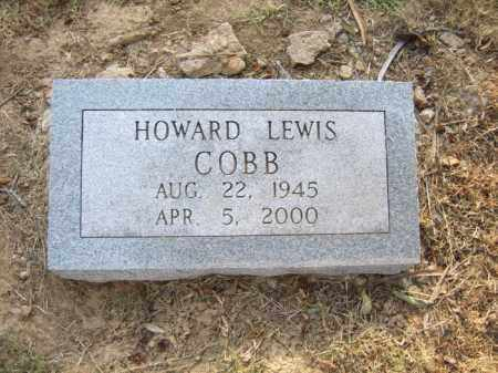 COBB, HOWARD LEWIS - Cross County, Arkansas | HOWARD LEWIS COBB - Arkansas Gravestone Photos
