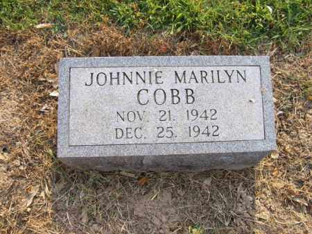 COBB, JOHNNIE MARILYN - Cross County, Arkansas | JOHNNIE MARILYN COBB - Arkansas Gravestone Photos