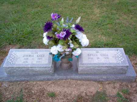 COLE, JIMMIE - Cross County, Arkansas | JIMMIE COLE - Arkansas Gravestone Photos