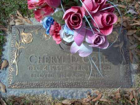 COLE, CHERYL DIANNE - Cross County, Arkansas | CHERYL DIANNE COLE - Arkansas Gravestone Photos