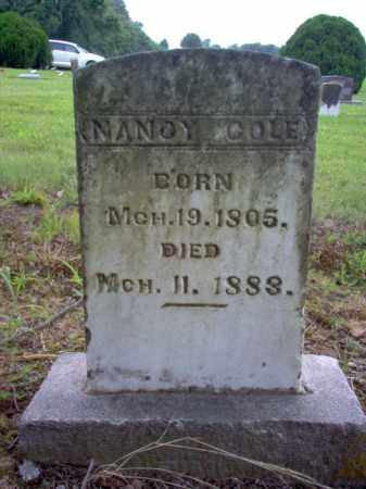 COLE, NANCY - Cross County, Arkansas | NANCY COLE - Arkansas Gravestone Photos