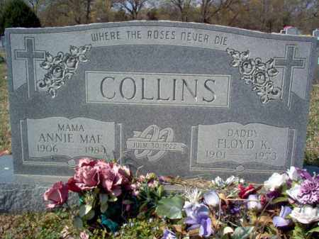 COLLINS, FLOYD KELLY - Cross County, Arkansas | FLOYD KELLY COLLINS - Arkansas Gravestone Photos
