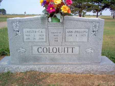 COLQUITT, ANN - Cross County, Arkansas | ANN COLQUITT - Arkansas Gravestone Photos