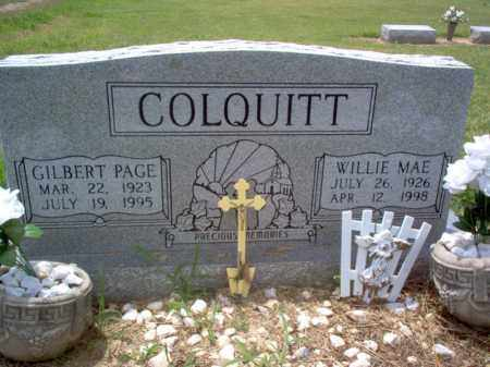 COLQUITT, WILLIE MAE - Cross County, Arkansas | WILLIE MAE COLQUITT - Arkansas Gravestone Photos