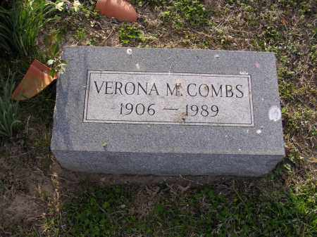 COMBS, VERONA M - Cross County, Arkansas | VERONA M COMBS - Arkansas Gravestone Photos