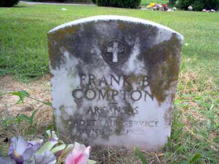 COMPTON (VETERAN), FRANK B - Cross County, Arkansas | FRANK B COMPTON (VETERAN) - Arkansas Gravestone Photos