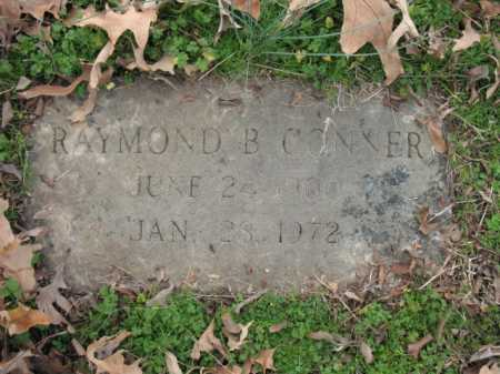 CONNER, RAYMOND B - Cross County, Arkansas | RAYMOND B CONNER - Arkansas Gravestone Photos
