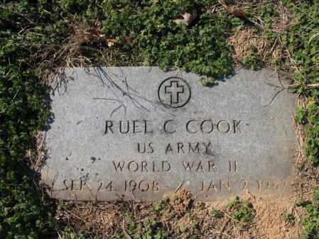 COOK (VETERAN WWII), RUEL C - Cross County, Arkansas | RUEL C COOK (VETERAN WWII) - Arkansas Gravestone Photos