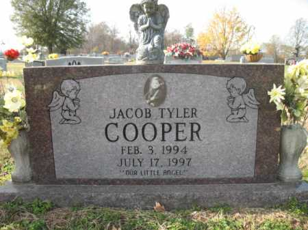 COOPER, JACOB TYLER - Cross County, Arkansas | JACOB TYLER COOPER - Arkansas Gravestone Photos