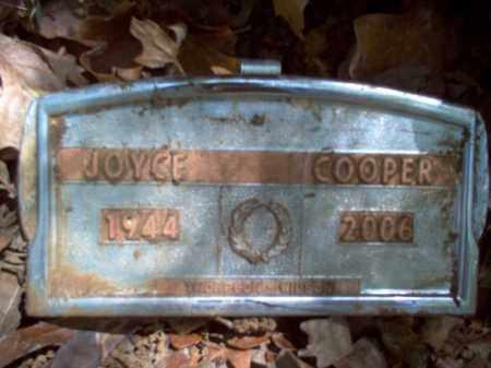 COOPER, JOYCE PAULINE - Cross County, Arkansas | JOYCE PAULINE COOPER - Arkansas Gravestone Photos