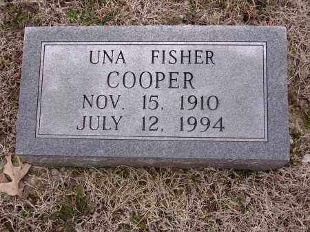 COOPER, UNA - Cross County, Arkansas | UNA COOPER - Arkansas Gravestone Photos