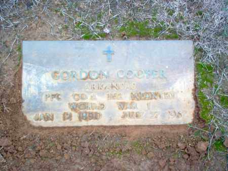 COOPER (VETERAN WWI), GORDON - Cross County, Arkansas | GORDON COOPER (VETERAN WWI) - Arkansas Gravestone Photos