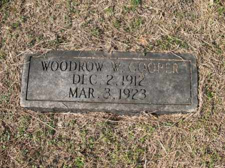 COOPER, WOODROW W - Cross County, Arkansas | WOODROW W COOPER - Arkansas Gravestone Photos