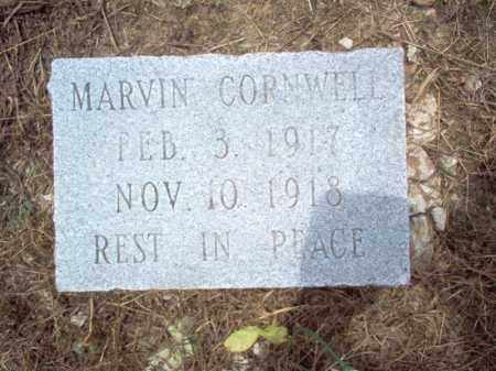 CORNWELL, MARVIN - Cross County, Arkansas | MARVIN CORNWELL - Arkansas Gravestone Photos