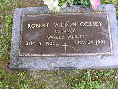 COSSEY  (VETERAN WWII), ROBERT WILSON - Cross County, Arkansas | ROBERT WILSON COSSEY  (VETERAN WWII) - Arkansas Gravestone Photos