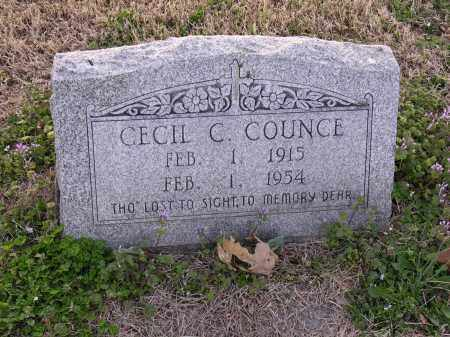 COUNCE, CECIL C - Cross County, Arkansas | CECIL C COUNCE - Arkansas Gravestone Photos