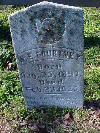 COURTNEY, W E - Cross County, Arkansas | W E COURTNEY - Arkansas Gravestone Photos