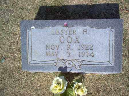 COX, LESTER H - Cross County, Arkansas | LESTER H COX - Arkansas Gravestone Photos