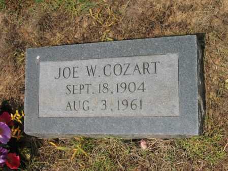 COZART, JOE W - Cross County, Arkansas   JOE W COZART - Arkansas Gravestone Photos