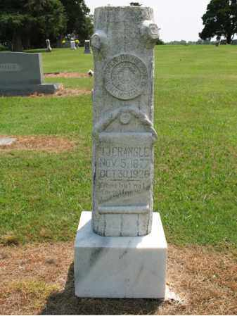 CRANGLE, T J - Cross County, Arkansas | T J CRANGLE - Arkansas Gravestone Photos