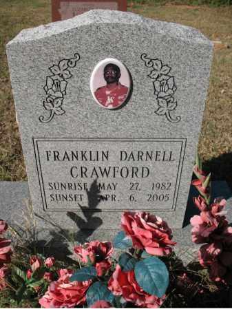 CRAWFORD, FRANKLIN DARNELL - Cross County, Arkansas | FRANKLIN DARNELL CRAWFORD - Arkansas Gravestone Photos