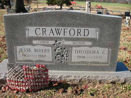 CRAWFORD, THEODORA - Cross County, Arkansas | THEODORA CRAWFORD - Arkansas Gravestone Photos