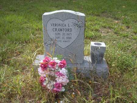 CRAWFORD, VERONICA L - Cross County, Arkansas | VERONICA L CRAWFORD - Arkansas Gravestone Photos