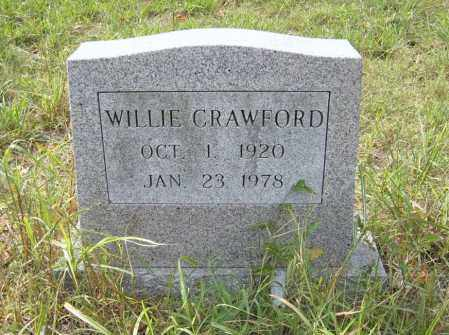CRAWFORD, WILLIE - Cross County, Arkansas | WILLIE CRAWFORD - Arkansas Gravestone Photos