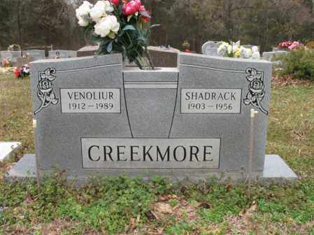 CREEKMORE, VENOLIUR - Cross County, Arkansas | VENOLIUR CREEKMORE - Arkansas Gravestone Photos