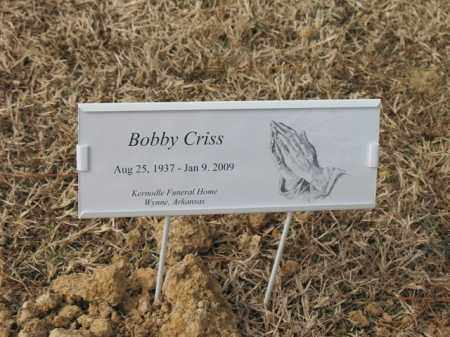 CRISS, BOBBY - Cross County, Arkansas | BOBBY CRISS - Arkansas Gravestone Photos