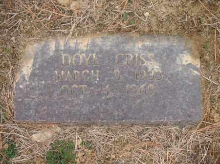 CRISS, DOYLE - Cross County, Arkansas | DOYLE CRISS - Arkansas Gravestone Photos
