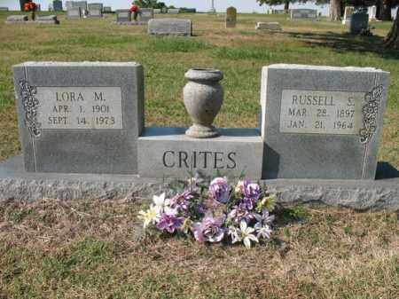 CRITES, LORA M - Cross County, Arkansas | LORA M CRITES - Arkansas Gravestone Photos