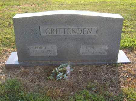 CRITTENDEN, GEORGE S - Cross County, Arkansas | GEORGE S CRITTENDEN - Arkansas Gravestone Photos