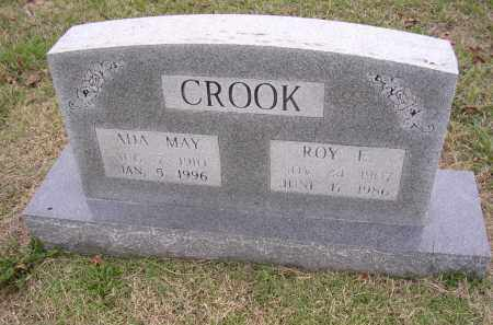 CROOK, ROY E - Cross County, Arkansas | ROY E CROOK - Arkansas Gravestone Photos