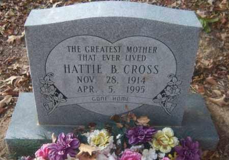CROSS, HATTIE B - Cross County, Arkansas | HATTIE B CROSS - Arkansas Gravestone Photos
