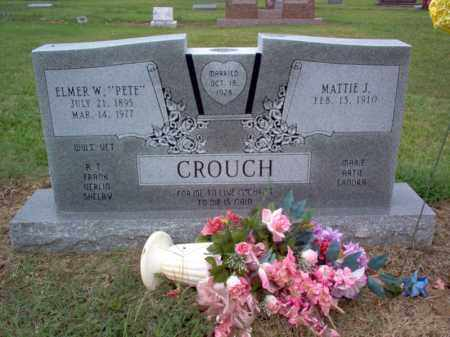 "CROUCH, ELMER W ""PETE"" - Cross County, Arkansas 