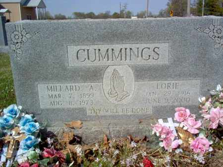 CUMMINGS, MILLARD A - Cross County, Arkansas | MILLARD A CUMMINGS - Arkansas Gravestone Photos