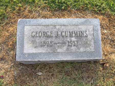 CUMMINS, GEORGE J - Cross County, Arkansas | GEORGE J CUMMINS - Arkansas Gravestone Photos