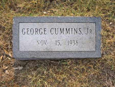 CUMMINS, JR, GEORGE - Cross County, Arkansas | GEORGE CUMMINS, JR - Arkansas Gravestone Photos