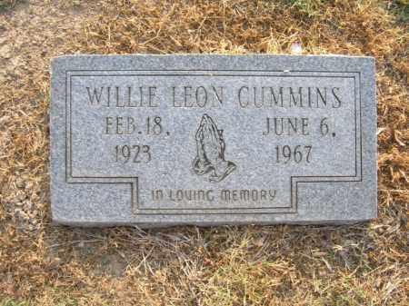 CUMMINS, WILLIE LEON - Cross County, Arkansas | WILLIE LEON CUMMINS - Arkansas Gravestone Photos